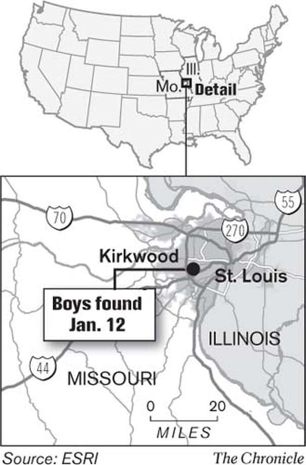 Boys Found. Chronicle Graphic