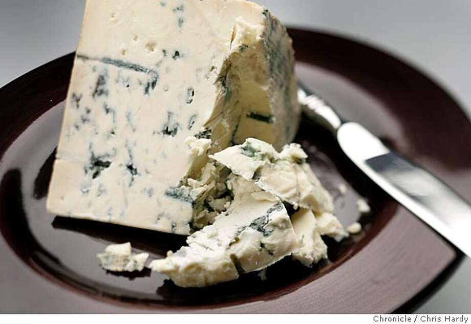 La Peral, a cow's milk blue cheese from Spain. in San Francisco  7/7/05 Chris Hardy / San Francisco Chronicle Photo: Chris Hardy