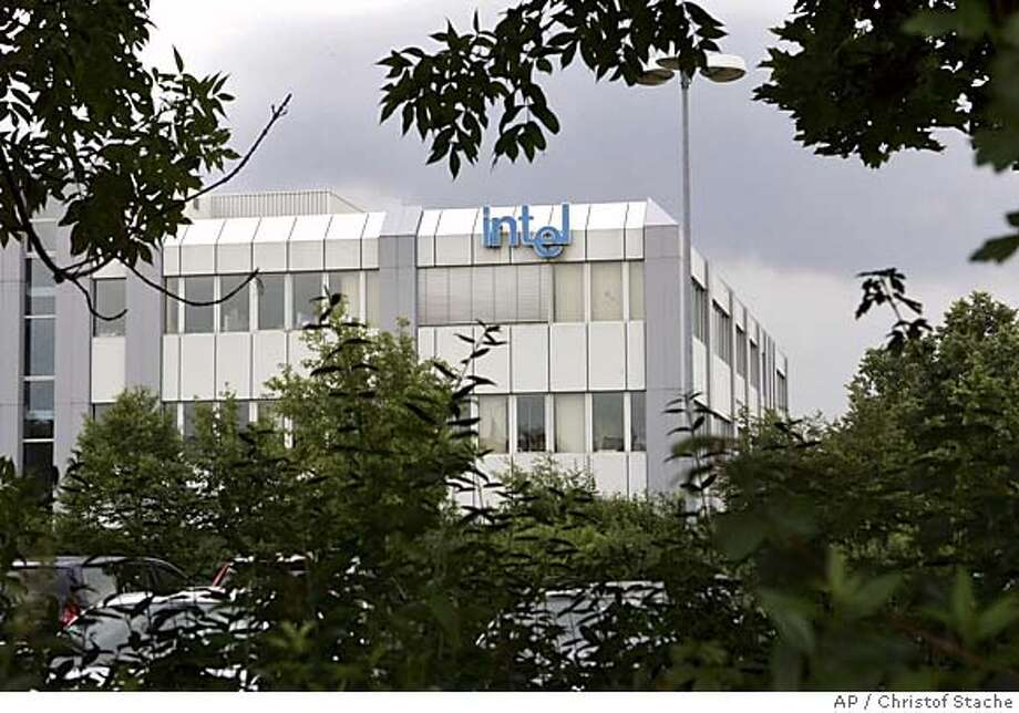 The European headquarters of Intel Corp in Feldkirchen, east of Munich, southern Germany, Tuesday, July 12, 2005. European regulators raided Intel offices Tuesday, two weeks after rival U.S. chipmaker AMD filed lawsuits in Japan and the United States claiming Intel broke antitrust rules. Officials declined to say which offices had been searched. (AP Photo/Christof Stache) Photo: CHRISTOF STACHE