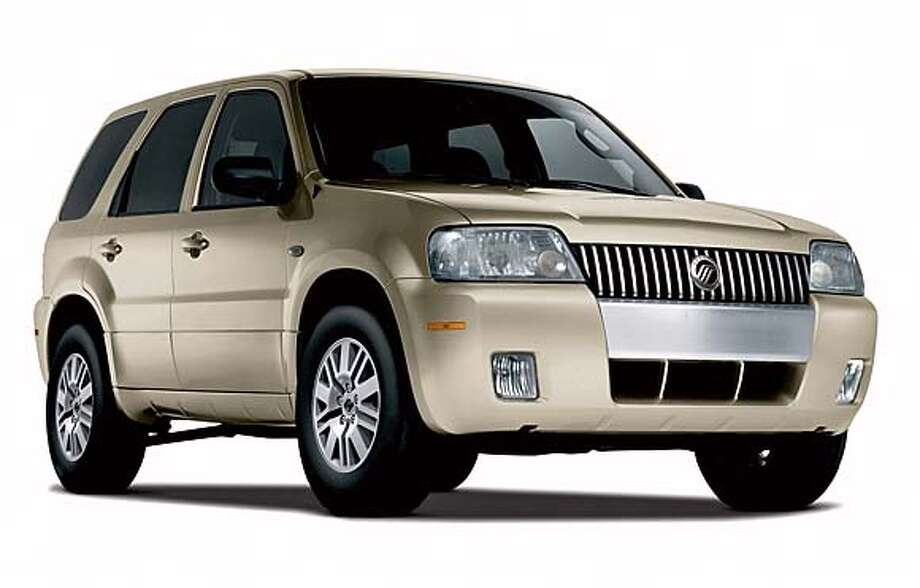 In a photo provided by the Ford Motor Co., a 2006 Mercury Mariner is shown. The automaker began selling its second hybrid vehicle on Monday, July 11, 2005. The 2006 Mercury Mariner Hybrid sport utility vehicle, which starts at $29,840, will be sold almost exclusively online, the company said. Customers can order the vehicles through Mercury's Web site and pick them up from a local dealer when they're delivered. (AP Photo/Ford Motor Co./ho) PHOTO PROVIDED BY THE FORD MOTOR CO