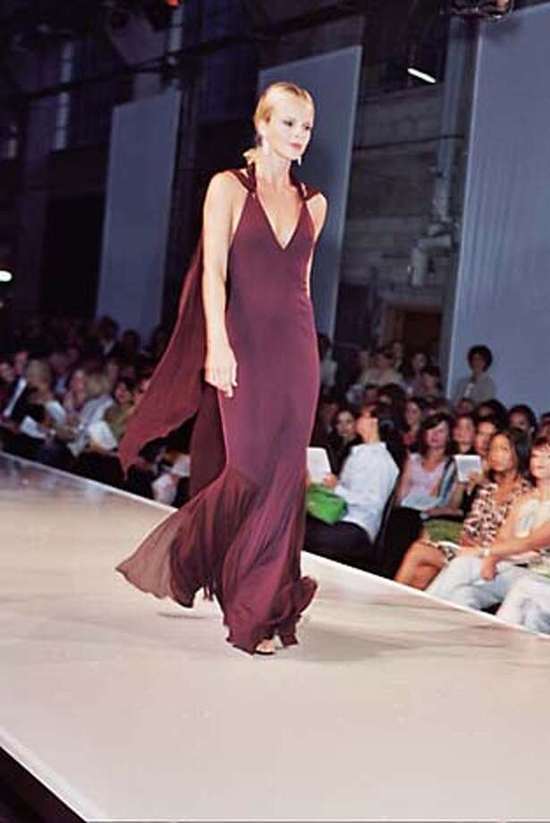 Nordstrom's 2005 fall fashion show at the Glass Palace in the Presido. Photo: Thomas J. Gibbbons / Special To