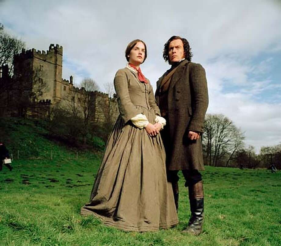 �Ruth Wilson as Jane and Toby Stephens as Rochester Photo: BBC 2006