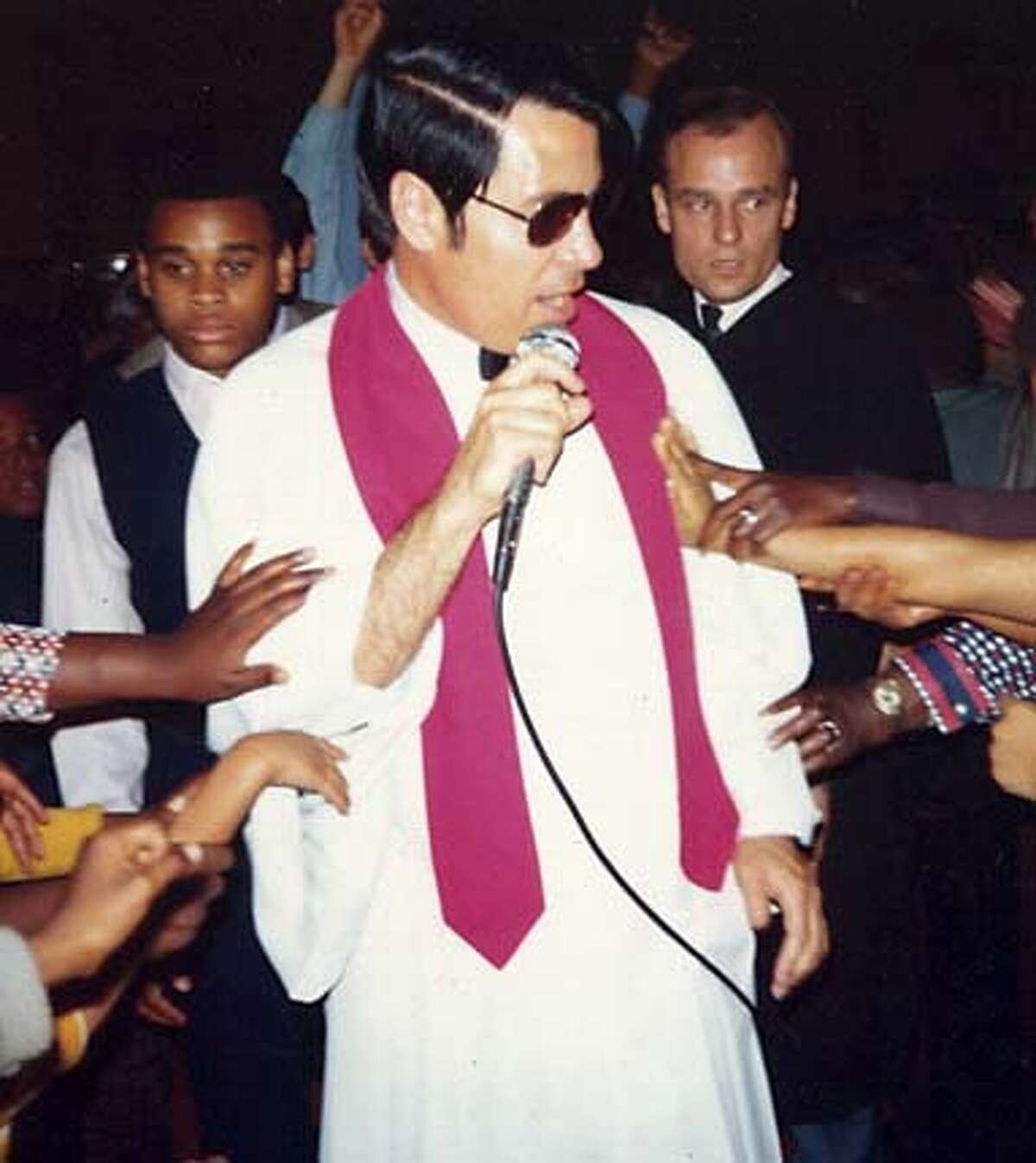 Jim Jones built a cult that was annihilated in a mass murder-suicide in the Guyana jungle in 1978.