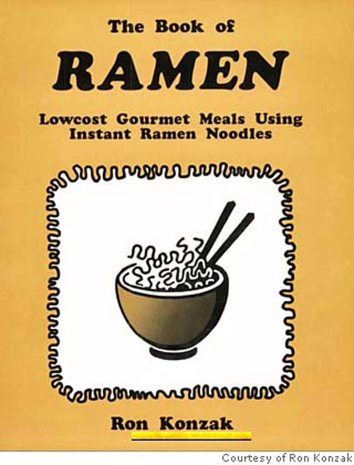 bookoframen.jpg (image/jpeg) 75kb Courtesy of Ron Konzak Every religion has its scripture; the Book of Ramen brings instant enlightenment to hungry masses, yearning to eat carbs