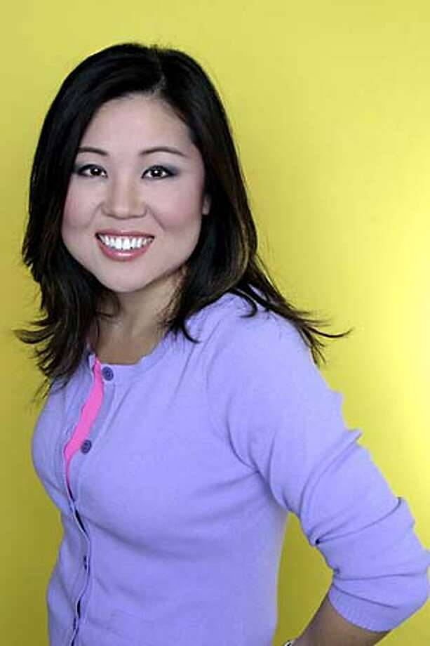 comedian Tina Kim  Photographer is Tim Schuster