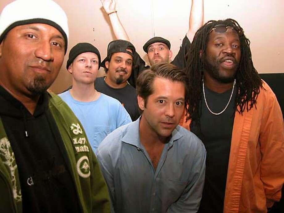 The hip hop band Raw Deluxe. Credit: Spread Love Media Photo: Spread Love Media