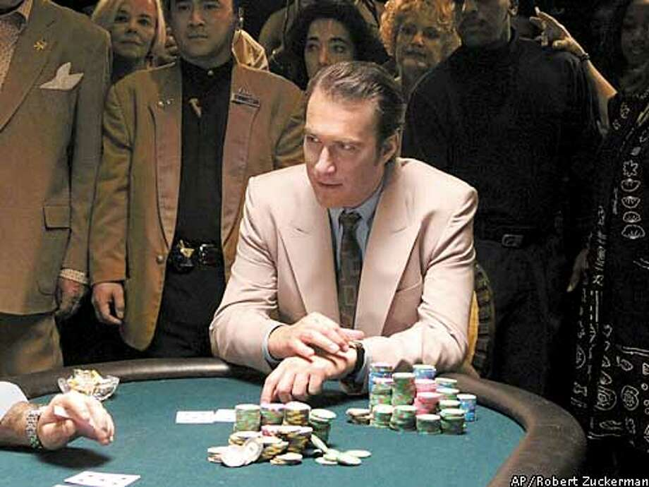 "** ADVANCE FOR WEEKEND APRIL 5-6 **Actor John Corbett is shown in a scene from FX's ""Lucky"" in this undated publicity photo. A bright new comedy with a melancholy edge, this FX half-hour series stars Corbett as Michael ""Lucky"" Linkletter, a professional poker player and gambling addict. (AP Photo/Robert Zuckerman) Photo: ROBERT ZUCKERMAN"