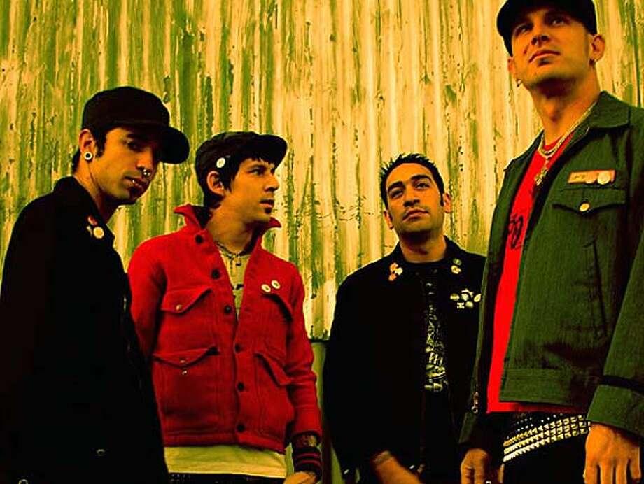 Unlucky: The Lucky Stiffs' instruments were stolen. Photo courtesy of luckystiffs.com