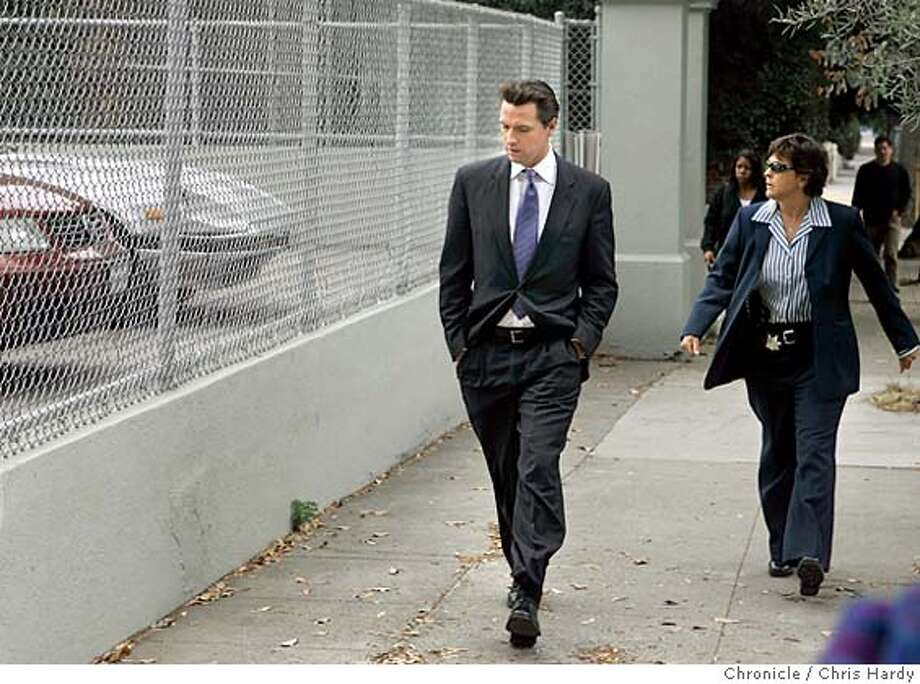Shooting at Cobb school  in San Francisco  7/5/05 Chris Hardy / San Francisco Chronicle Photo: Chris Hardy