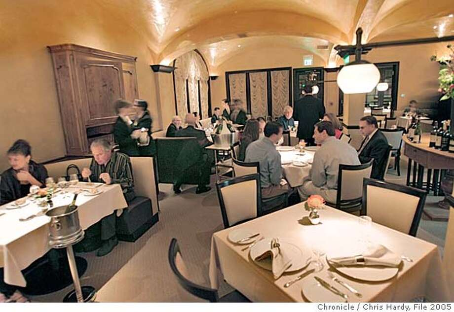 Cyrus,a new upscale restaurant in Healdsburg, in the new Les Mars Hotel. in Healdsburg  3/6/05 Chris Hardy / San Francisco Chronicle Photo: Chris Hardy