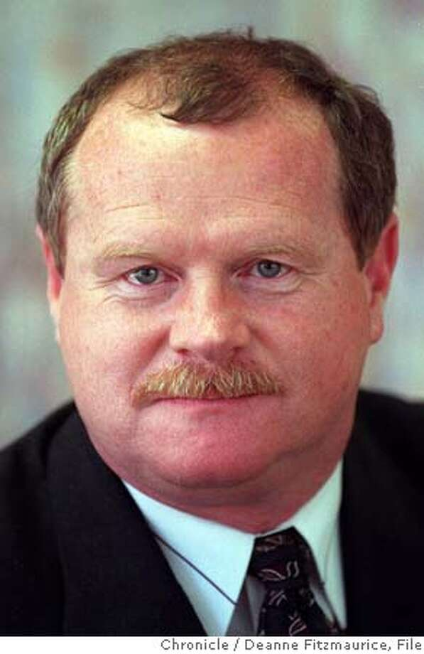 HENNESSEY-SF SHERIFF MICHAEL HENNESSEY PHOTO BY DEANNE FITZMAURICE/ THE CHRONICLE. ALSO RAN: 05/26/98, 4/2/99, 06/03/1999, 06/04/1999, 10/26/1999, 11/2/99, 05/02/2001, 03/06/02, 7/18/03, 1/13/2004 CAT Photo: DEANNE FITZMAURICE