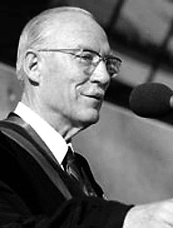 Former San Jose State University President, Robert Clark. Photo from San Jose State University website Photo: SJSU Website
