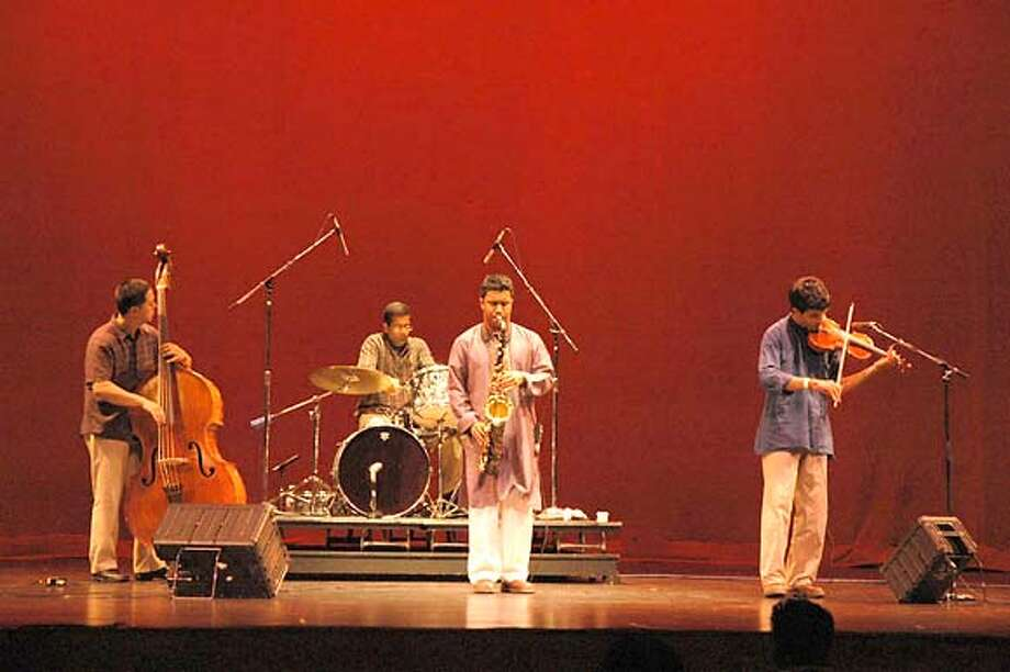 �Prasant Radhakrishnan and his band VidyA. Photo: Ho