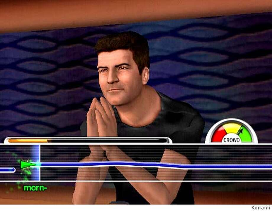 �American Idol Karaoke Revolution game. Credit: Konami Digital Entertainment, Inc. Photo: Konami Digital Entertainment, In