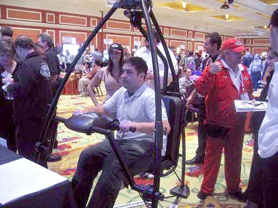 �The Dream Machine as seen at CES 2007. Photo: Ryan Kim