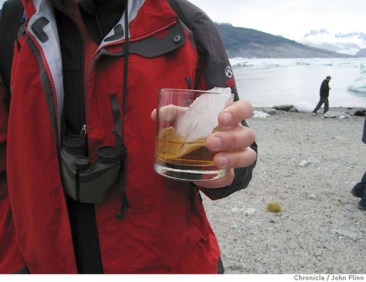 TRAVEL AUSTRALIS -- Whiskey on the rocks -- in this case the