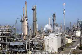 Aftermath of morning fire at Conoco Philips Refinery in Rodeo. I got there after real fire......this is just an overall. CQ name of refinery  Penni Gladstone/The San Francisco Chronicle  Photo taken on 5/1/06, in Rodeo, CA.  Ran on: 05-02-2006  The ConocoPhillips refinery in Rodeo sounded the alarm to nearby residents after a power outage led to the emission of a black cloud.