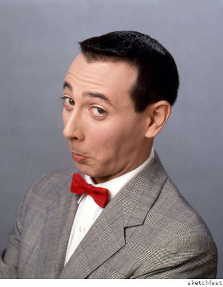 Paul Reubens, a.k.a. Pee-wee Herman.  Credit: sketchfest Photo: Sketchfest