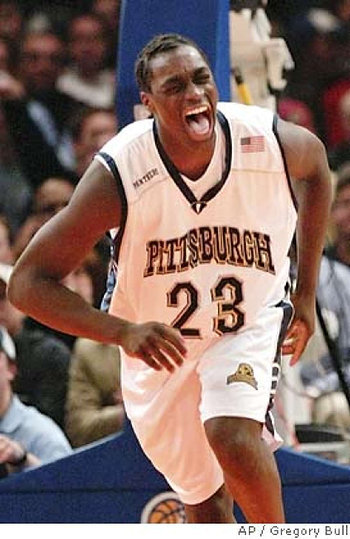 Pittsburgh's Chris Taft reacts after he dunks against Boston College in the second half of a Big East Championship semifinals game Friday, March 12, 2004, at New York's Madison Square Garden. (AP Photo/Gregory Bull) Pitts Chris Taft and his teammates are not happy that the Panthers, who have won 29 games, are only a No. 3 seed in the East Rutherford region. Ran on: 05-12-2005 Pitts Chris Taft wont be at a Warriors workout today, but the forward may be available when it comes time for the team to draft. Ran on: 05-12-2005 Pitts Chris Taft wont be at a Warriors workout today, but the forward may be available when it comes time for the team to draft.