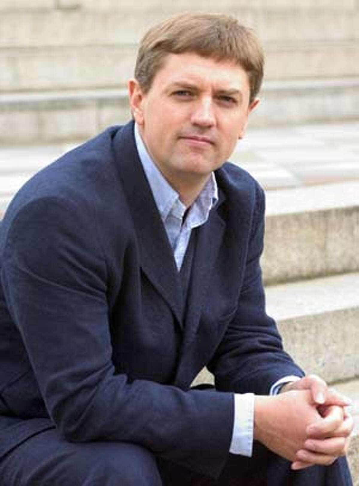 Photo of MARTIN WEST, new music director of S.F. Ballet.