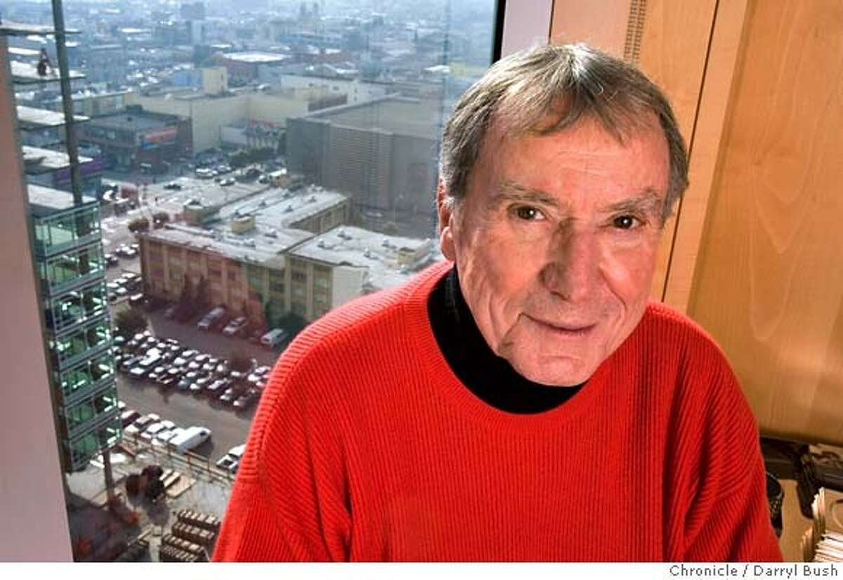 FILE -- Angelo Sangiacomo owner of Trinity Properties, is seen in 2006 in his office at the old Trinity Properties building at 1177 Market St., which is being redeveloped.