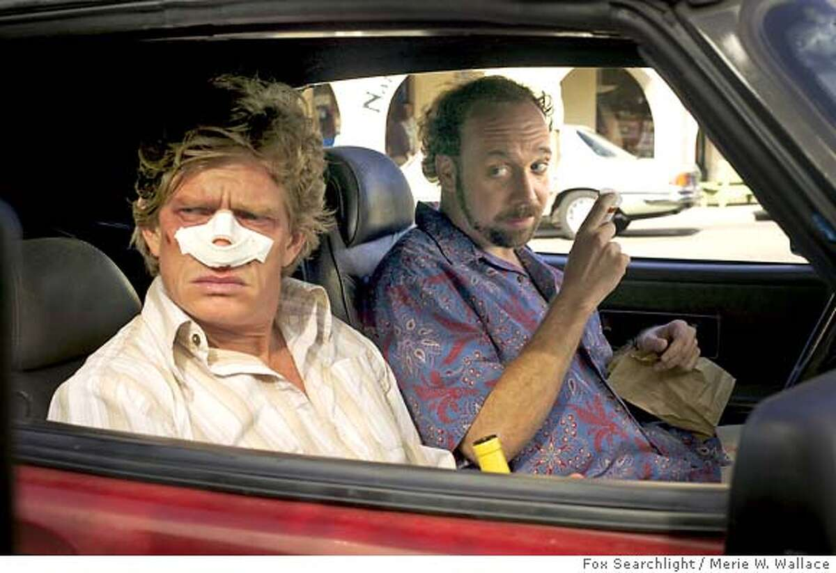 SIDEWAYS29 Thomas Haden Church and Paul Giamatti in Fox Searchlight's Sideways . Credit: Merie W. Wallace Ran on: 10-29-2004 Thomas Haden Church (left) and Paul Giamatti in Sideways, directed by Alexander Payne. Ran on: 10-29-2004 Ran on: 10-29-2004 Ran on: 12-13-2004 Julie Delpy: best actress for Before Sunset. Ran on: 02-25-2005 Cate Blanchett, up for best supporting actress, breathes life into The Aviator. Ran on: 02-27-2005