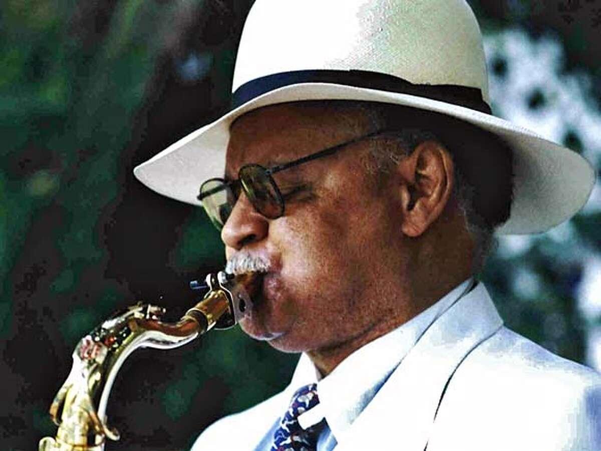 Photo of musician Plas Johnson.