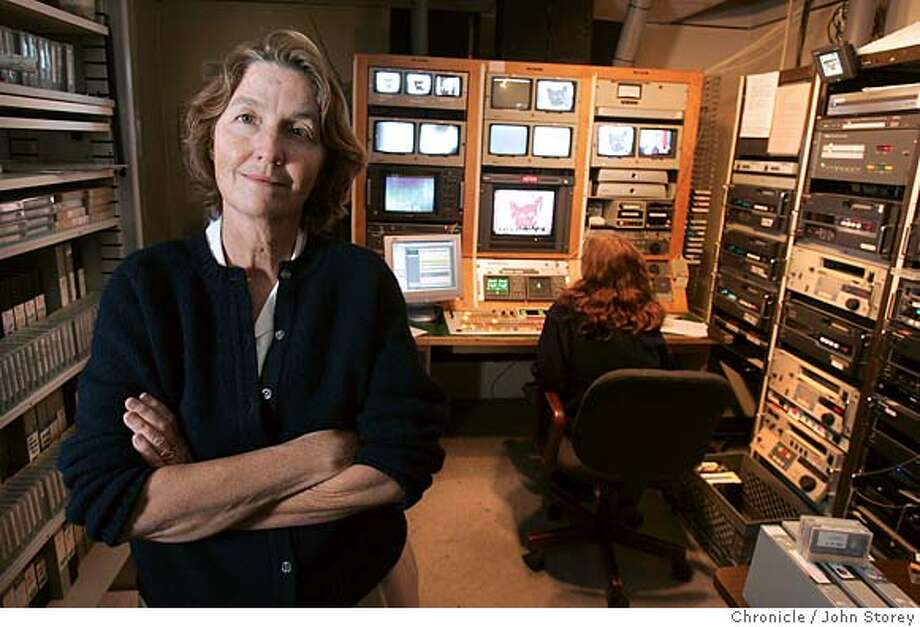 KRCB_jrs_0086.jpg President and CEO of KRCB TV, Nancy Dobbs in the master control room. John Storey Rohnert Park Event on 6/22/05 MANDATORY CREDIT FOR PHOTOG AND SF CHRONICLE/ -MAGS OUT Photo: John Storey