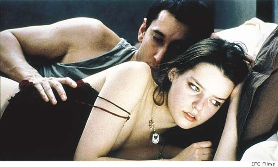 SEX24 Gr�goire Colin (The Actor) with Roxane Mesquida (The Actress) in a scene from SEX IS COMEDY directed by Catherine Breillat. An IFC Films release