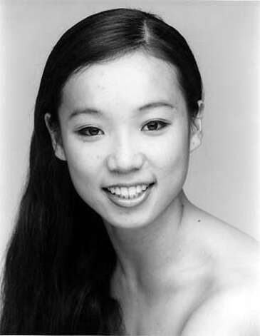 Mug shot of S.F. Ballet dancer, Frances Chung.