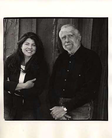 Photo of author Naomi Wolf and her father, Leonard Wolf. Ran on: 05-15-2005 Ran on: 05-15-2005  Naomi Wolf and her father, poet, novelist, translator and editor Leonard Wolf. BookReview#BookReview#Chronicle#05-15-2005#ALL#2star#b3#0422876295