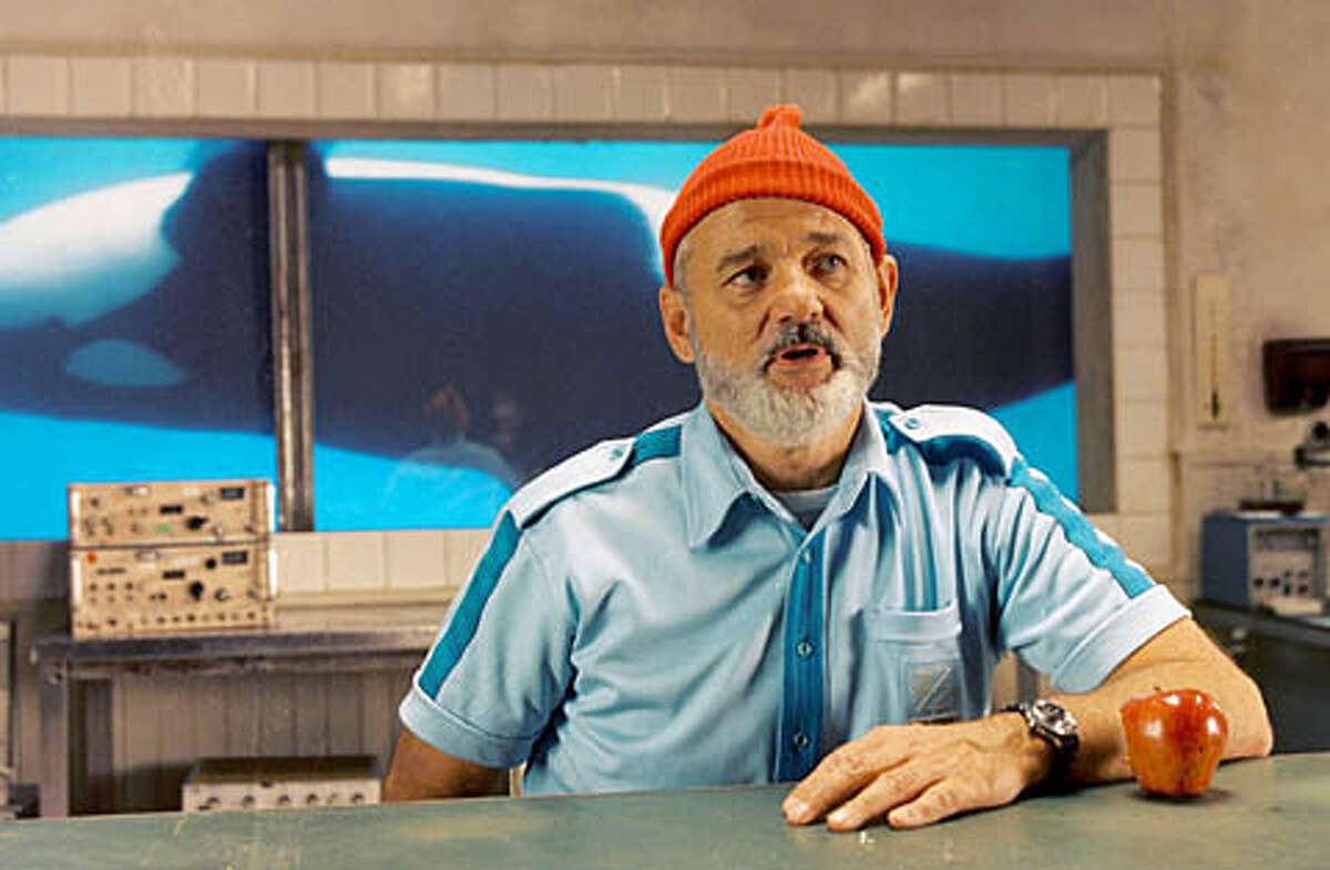 """AQUATIC25 Academy Award� nominee Bill Murray (pictured) stars as Steve Zissou, a washed-up oceanographer searching for love, revenge and a drop of redemption during his ultimate aquatic quest in Touchstone Pictures' """"the Life Aquatic with Steve Zissou."""""""