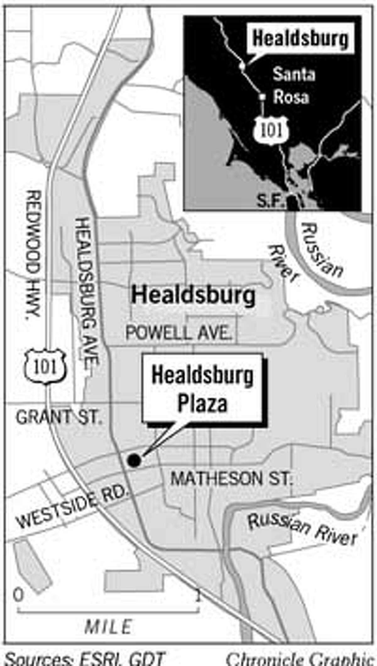 Healdsburg. Chronicle Graphic