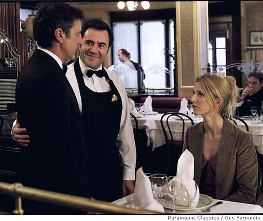 APRES10 Daniel Auteuil, Jos� Garcia and Sandrine Kiberlain form an unlikely love triangle in Paramount Classics' APRES VOUS, a romantic comedy about making friends, losing loves and finding yourself. Photo by Guy Ferrandis