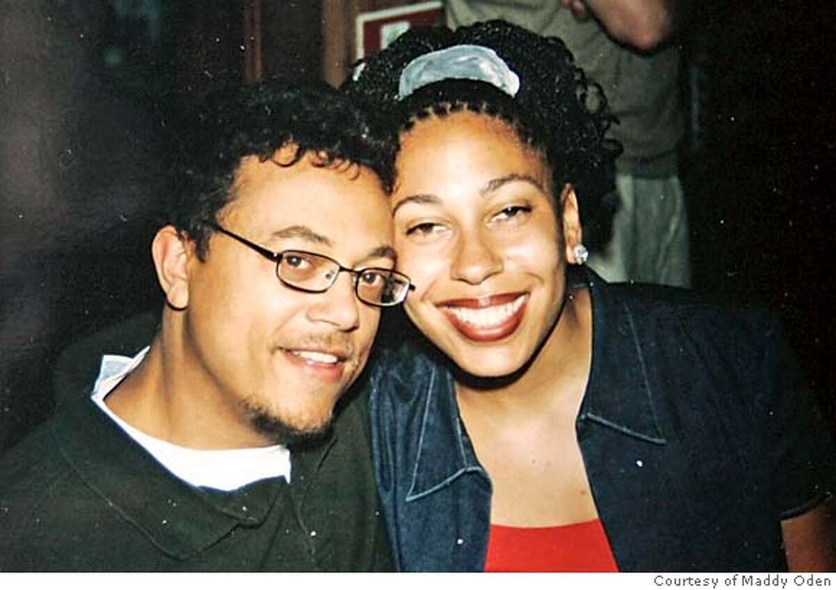 Event on 8/31/04 in Oakland. Tatia Oden French with her husband J. B. French after she received her PhD. Tatia died during childbirth, along with her baby. Photo courtesy of Maddy Oden. Maddy Oden, whose daughter died while in childbirth. Odden has started a foundation in honor of her daughter Tatia Oden French, who was a 32-year-old PhD graduate who was applying for medical school.