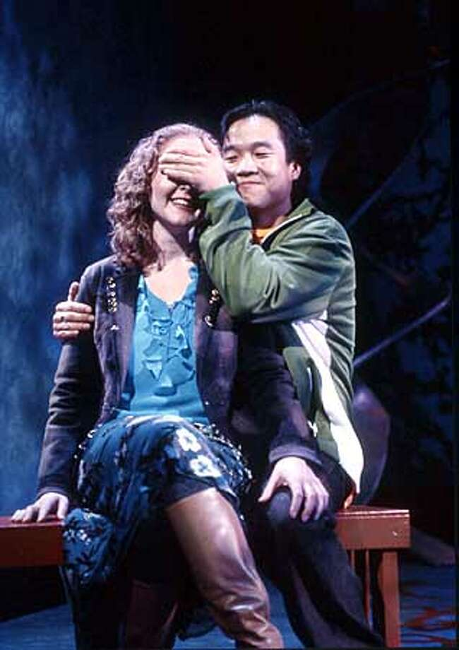 THIS IS A HANDOUT IMAGE. PLEASE VERIFY RIGHTS. Susy McInerny and Trau Trieu star in TheatreWorks' production of Cherylene Lee's THE LEGACY CODES. HANDOUT PHOTO/VERIFY RIGHTS AND USEAGE Photo: HANDOUT