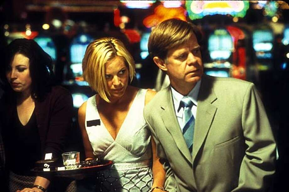 "William Macy talks about getting naked with co-star Maria Bello in ""The Cooler."""