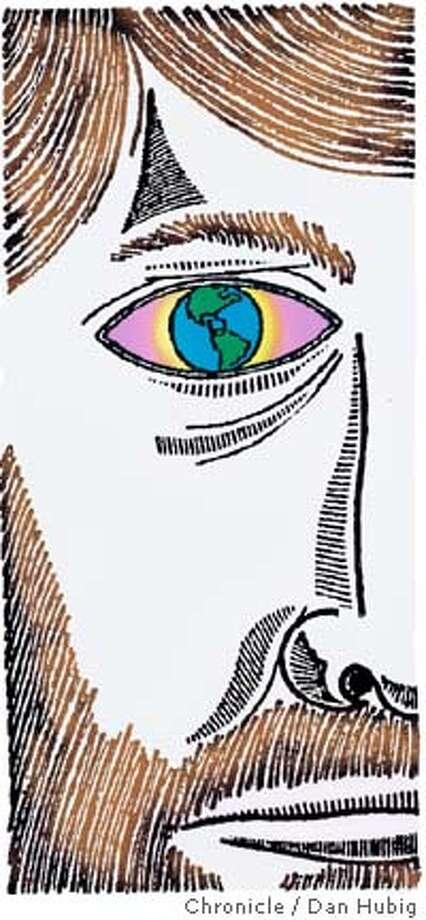 Eyes wide shut. Chronicle illustration by Dan Hubig