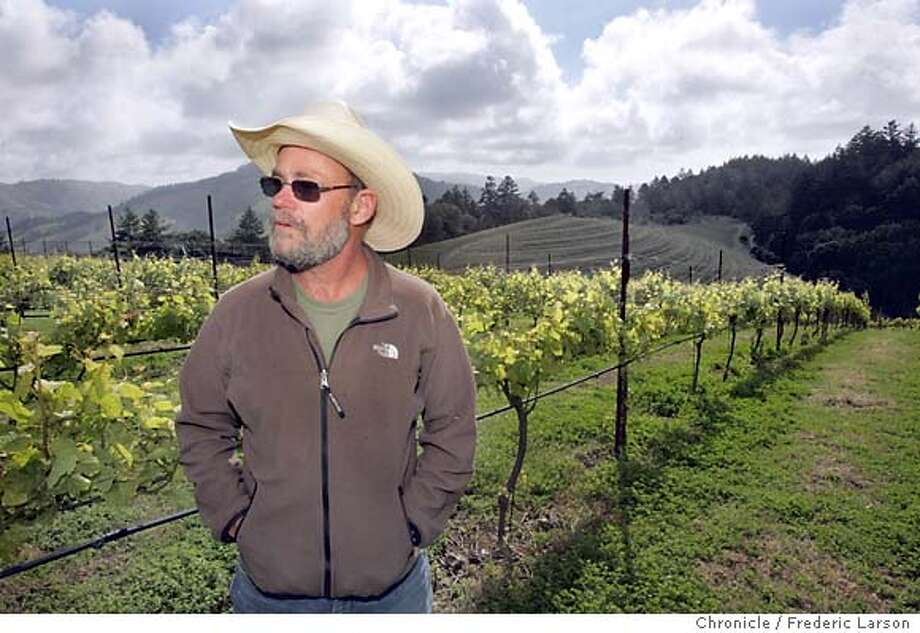 PARK_076_fl.jpg Mark Pasternak lives in the midst of what Marin County's environmental movement created over the past 40 years. His vineyard is surrounded by open space under the jurisdiction of the enormous urban park called the Golden Gate National Recreation Area. While preventing the Disnyfication of natural resources, preservation like what has happened in Marin has had some unintended consequences. Homes are now so scarce and expensive in the Bay Area that the blue collar work force has to move to the hinterlands. Freeway gridlock, water shortages and cookie cutter homes are the rule out there. There are opinions on all sides, but Pasternak may represent middle ground. He hates the authoritarian GGNRA but values open space.  City:� Nicasio 5/16/05 Nicasio CA Frederic Larson The San Francisco Chronicle Photo: Frederic Larson