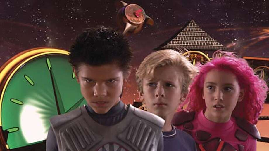 Cast of Shark Boy and Lava Girl  Summer movies 2005