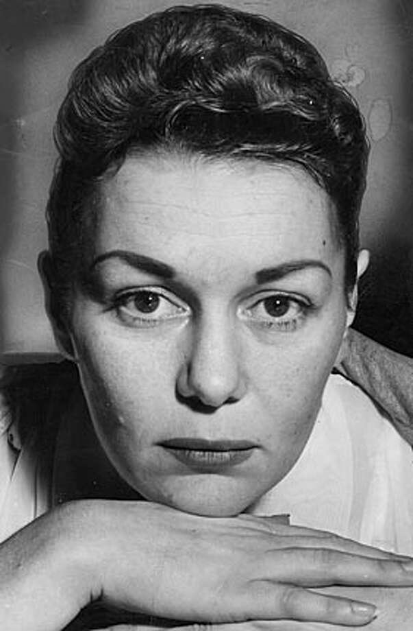 Barbara Graham (**Can not read caption writing, please check name**) is executed at San Quentin.
