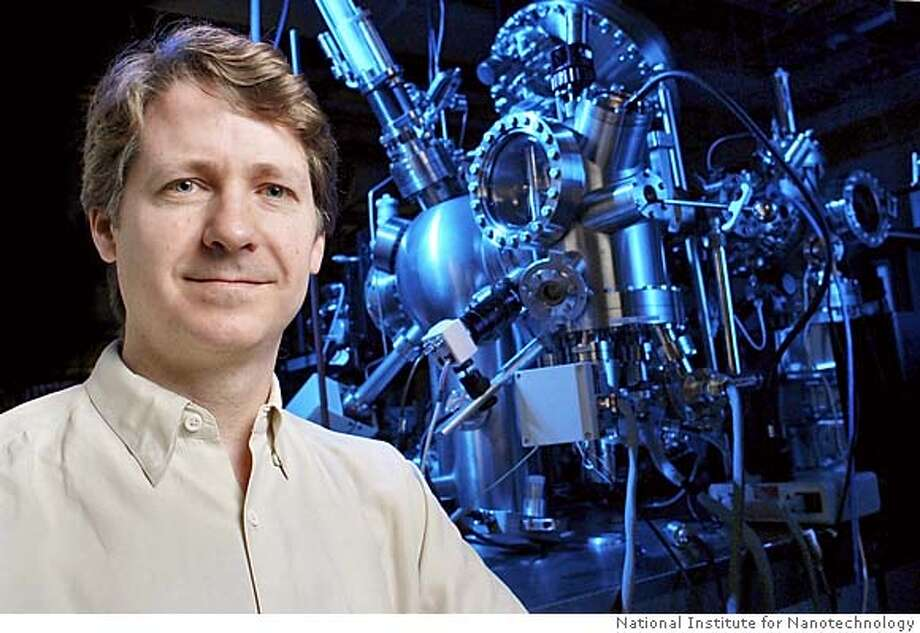 Photo of Dr. Robert Wolkow of the NRC National Institute for Nanotechnology, to accompany the story on single molecule transistor. Photo: Courtesy of the National Research Council of Canada Photo: Courtesy Of The National Researc