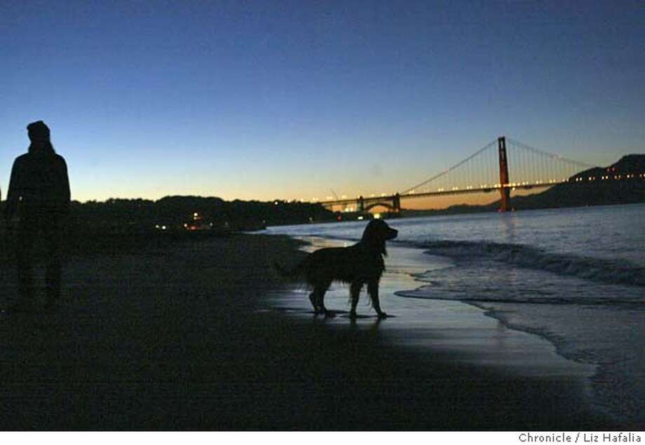 DOGS_025_LH.JPG Federal magistrate tosdses dog-walking tickets at Crissy Field because National Park Service violated various rules in issuing them. Shot on 12/3/04 in San Francisco. LIZ HAFALIA/The Chronicle MANDATORY CREDIT FOR PHOTOG AND SF CHRONICLE/ -MAGS OUT Metro#Metro#Chronicle#12/4/2004#ALL#5star##0422498702 Photo: Liz Hafalia