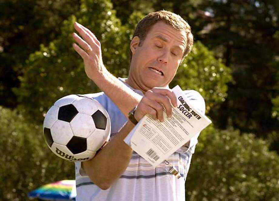 "Will Ferrell is shown in an undated publicity photo from the Universal Pictures film ""Kicking and Screaming."" Ferrell plays a soccer coach in the film slated for release May 16, 2005. NO ARCHIVE REUTERS/Suzanne Hanover/Universal Pictures/Handout 0 Photo: HO"