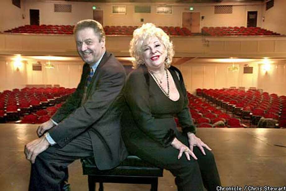 TAYLOR04B-C-24FEB03-DD-CS Renee Taylor and Joseph Bologna are a writer/actor team, appearing at the Marines Memorial Theatre, 609 Sutter St, SF. No further information provided by reporter. BY CHRIS STEWART/THE CHRONICLE Photo: CHRIS STEWART