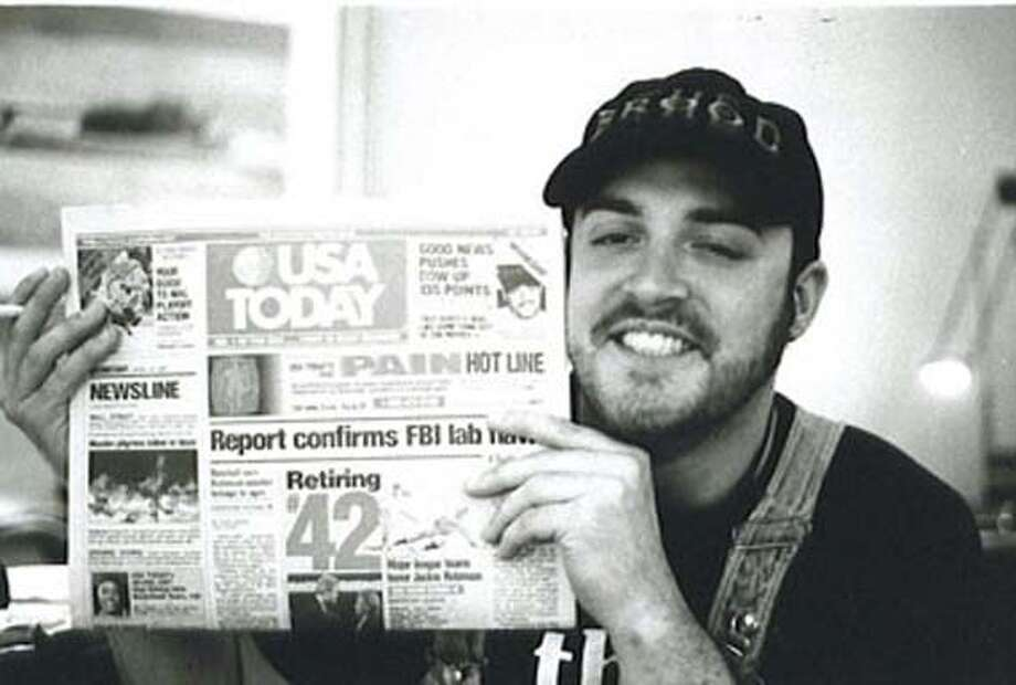 "Troy Duffy in ""Overnight"" Datebook#Datebook#Chronicle#12/03/2004##Advance##0422495043"