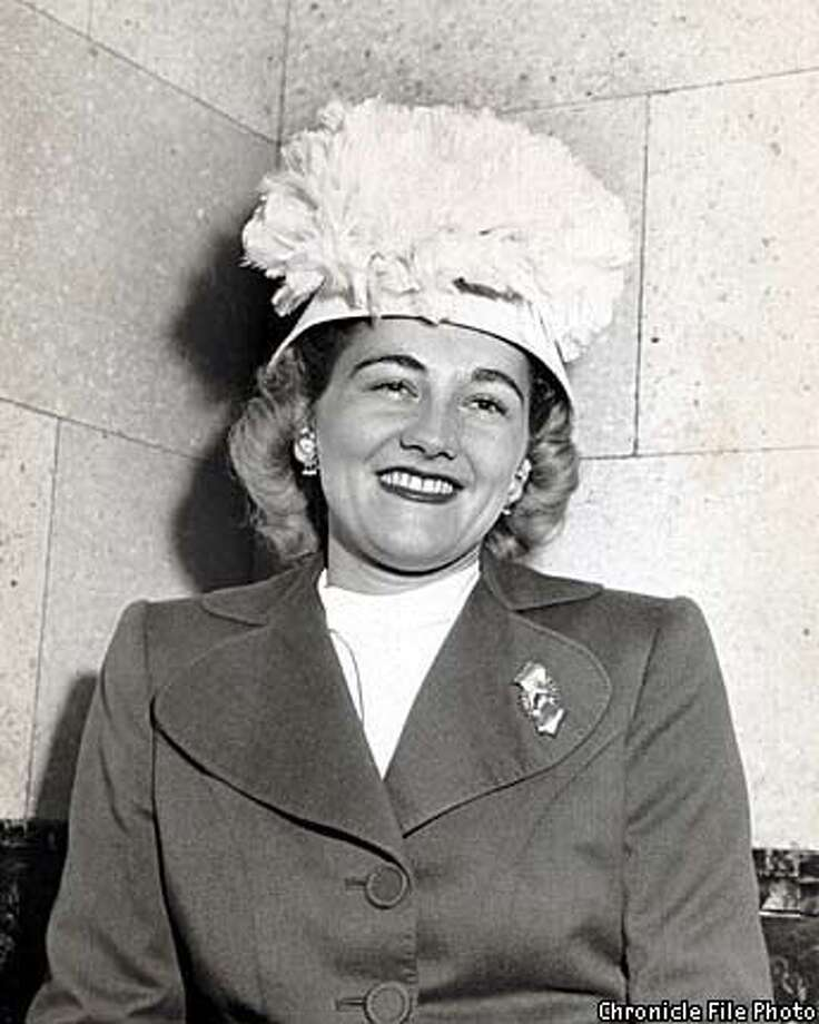 Diana Dollar in 1947. Chronicle File Photo