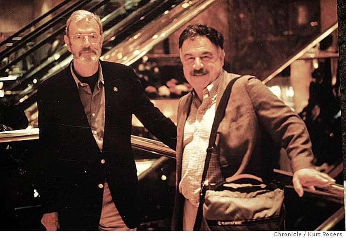Joe Esherick and George Homsey in a copy photo ... 11/26/04 in San Francisco,CA. KURT ROGERS/THE CHRONICLE