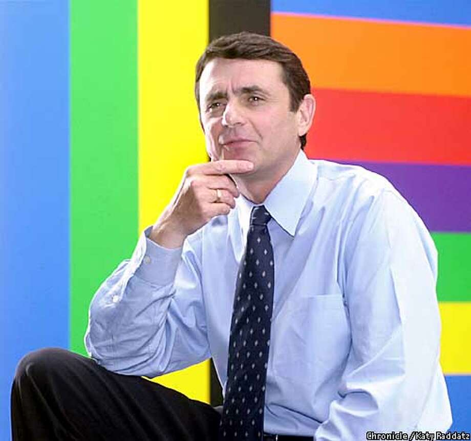 PHOTO BY KATY RADDATZ--THE CHRONICLE  Neal Benezra will take over the directorship of the San Francisco Museum of Modern Art. He's photographed inside his office, and in front of a Sol LeWitt wall drawing (which is owned by SFMOMA). Photo: KATY RADDATZ
