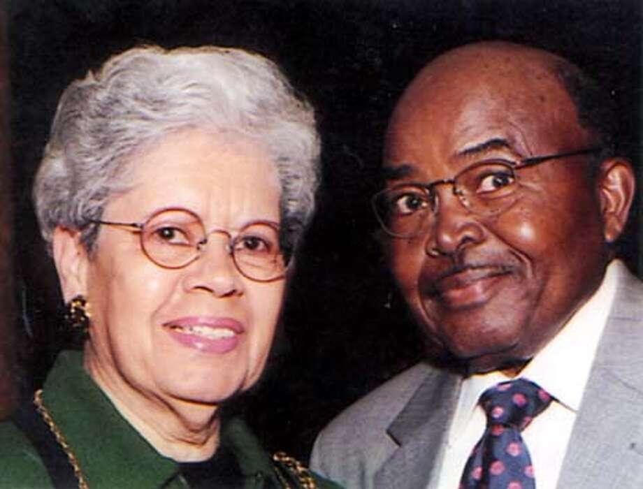 DR. JOHN B. JACKSON AND WIFE EUNICE Photo: HANDOUT